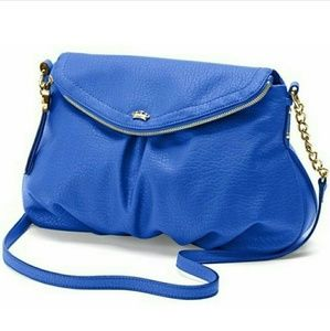 Juicy Couture flap crossbody blue hobo NWOT